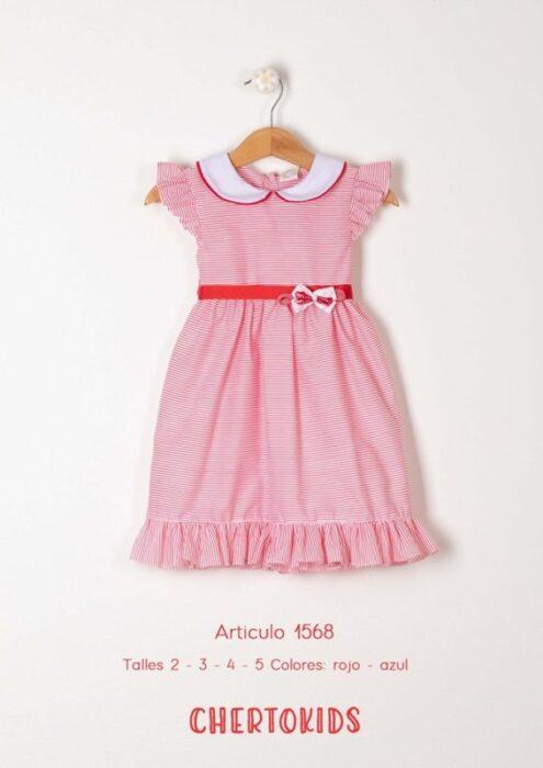 vestido-a-rayas-rojo-niña-verano-2020-Chertokids