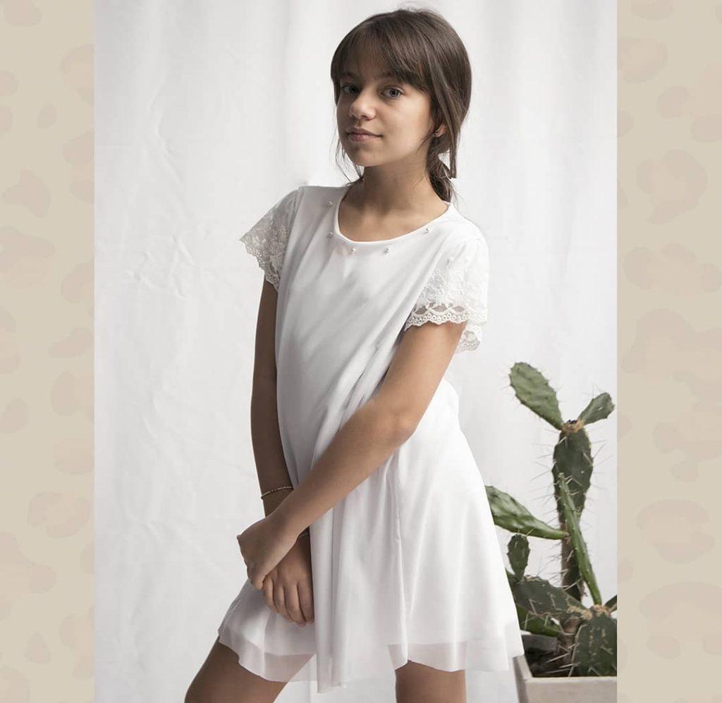 vestido-blanco-nena-pre-teens-Van-Dike-verano-2020