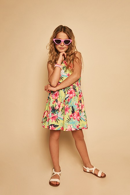 vestido-estampa-tropical-niña-nucleo-kids-verano-2020
