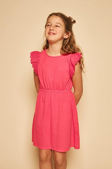 vestido-rosa-coral-niña-nucleo-kids-verano-2020