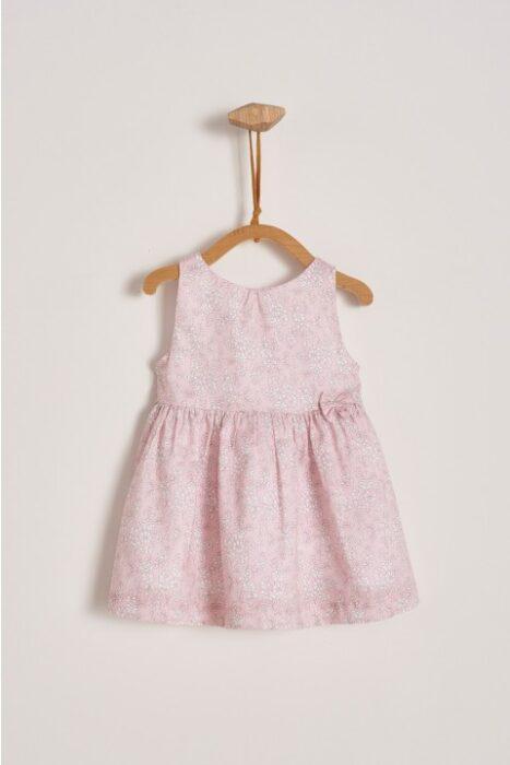 vestido-rosado-beba-Baby-Cottons-verano-2020