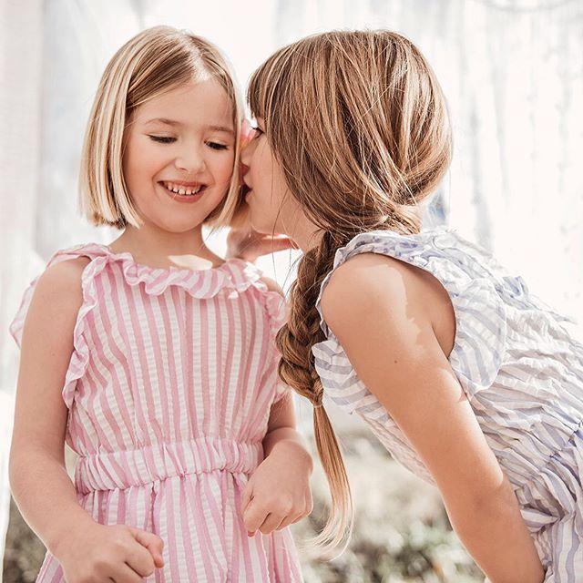 vestidos-a-rayas-para-niñas-Pioppa-verano-2020