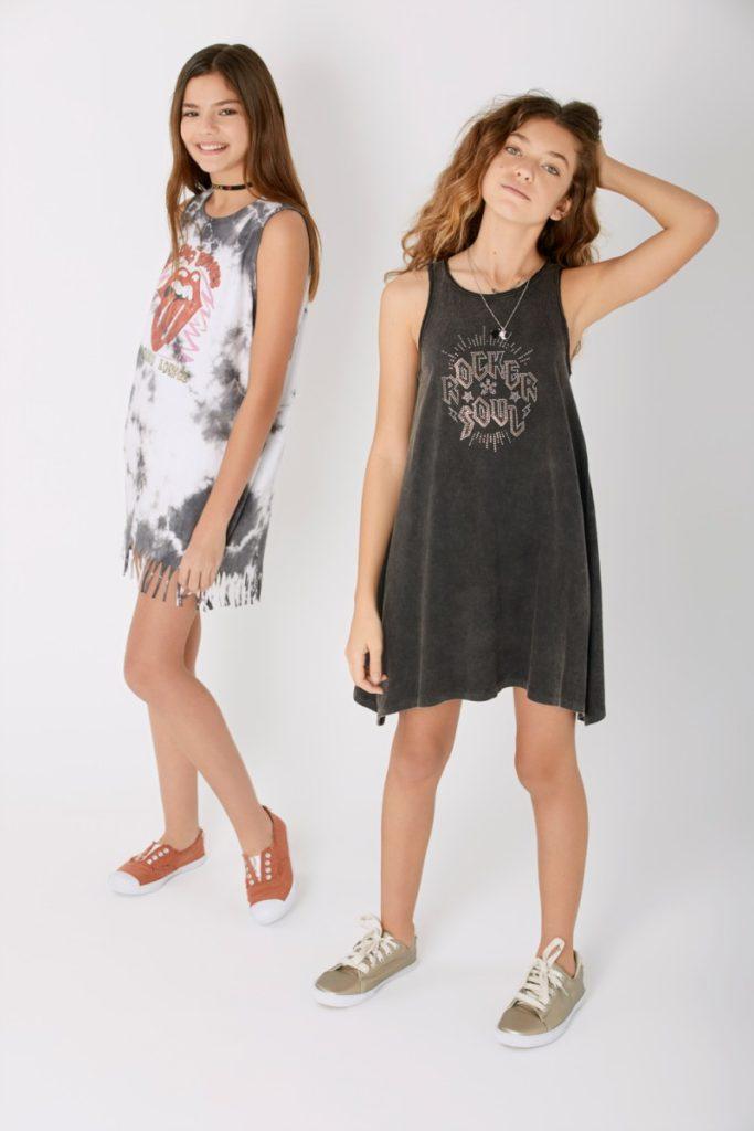vestidos-casual-rock-niñas-teens-Rapsodia-Girls-verano-2020