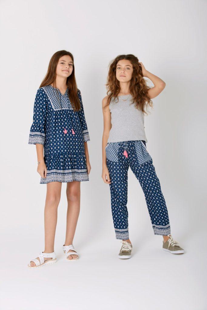 vestidos-estilo-tunica-niñas-teens-Rapsodia-Girls-verano-2020