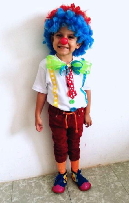 Disfraz De Payaso Para Niños Y Niñas Minilook