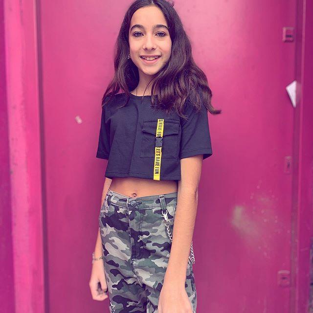 Pantalon Camufaldo Y Top Para Pre Adolescentes So Cippo Verano 2020 Minilook