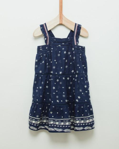 vestido-azul-para-niña-Wanama-Boys Girls verano-2020