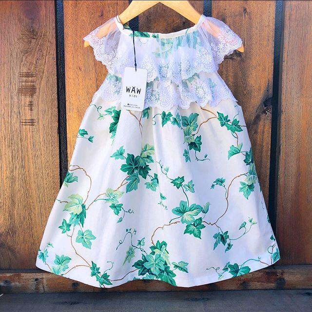 vestido-blanco-con-hojas-niña-waw-verano-2020