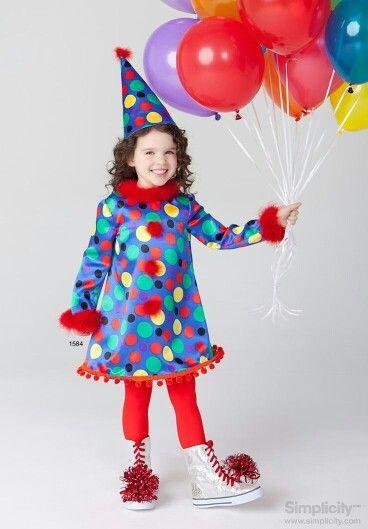 vestido-payasa-niña