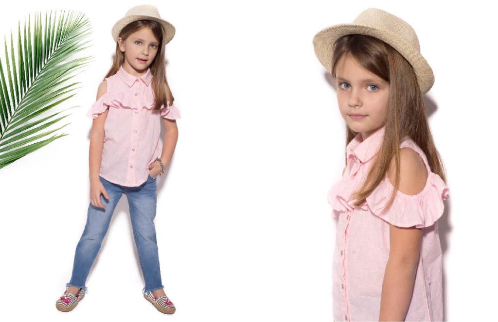 camisa-para-niña-b-way-verano-2020