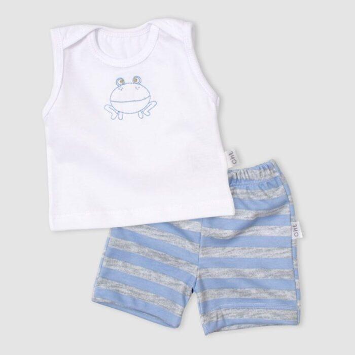 conjunto-musculosa-y-short-algodon-bebe-Baby-Cheito-verano-2020