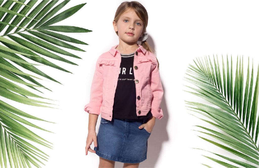 minifalda-jeans-campera-gabardina-niña-b-way-verano-2020