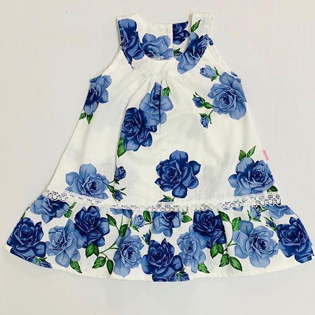 vestido-estampado-con-puntilla-para-bebes-solcito-verano-2020