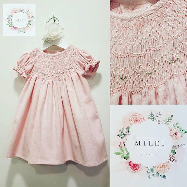 milei-vestidos-para-niña-punto-smock-verano-2020