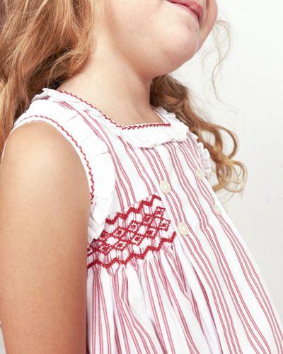 vestido-moderno-casual-con-punto-smock