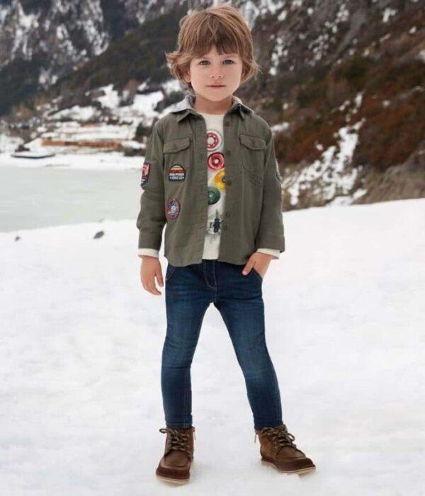 campera-gabardina-estilo-militar-niño