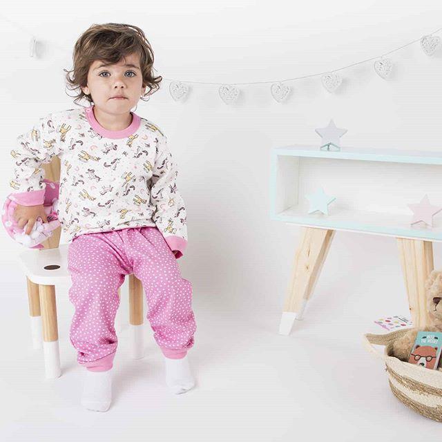 pijamas-para-niños-Naranjo-otoño-invierno-2020
