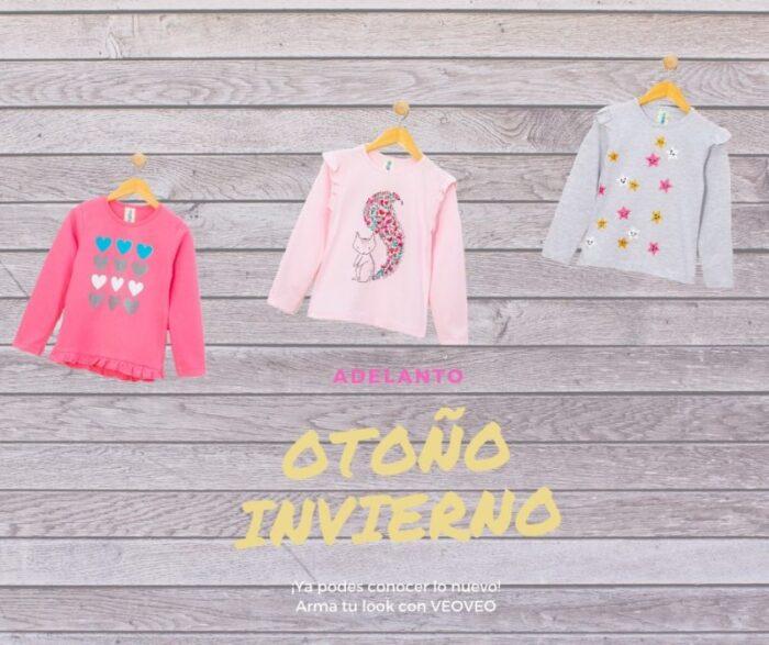 Anticipos de moda infantil Argentina otoño invierno 2020