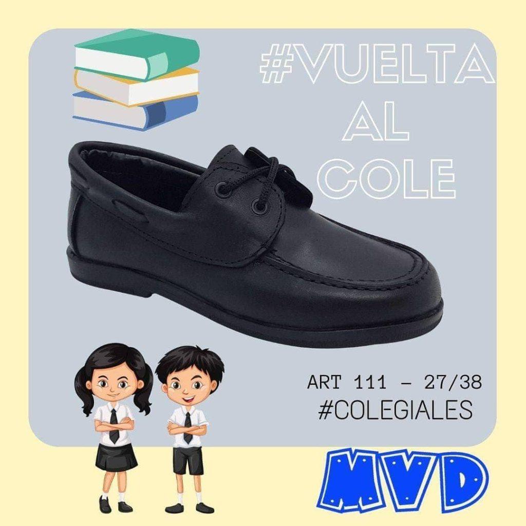 zapato colegial leñador niño mdv 2020