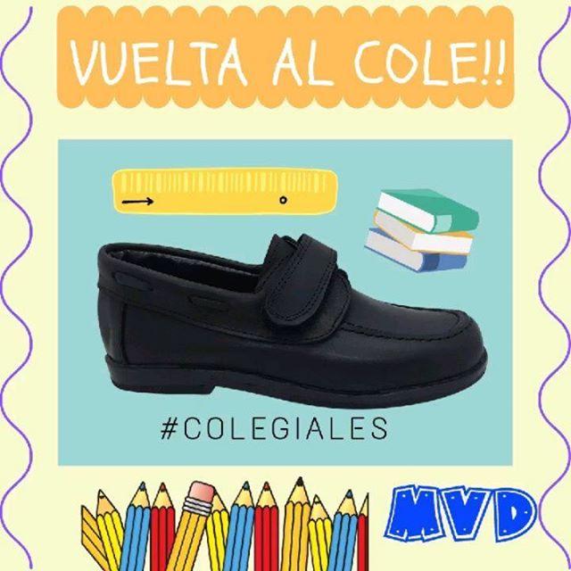 zapato colegial velcro abrojo niño mdv 2020