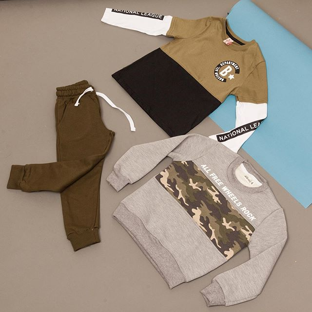 buzo algodon camuflado niño JG kids invierno 2020