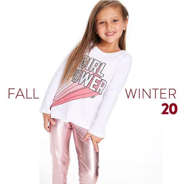 calza rosa metalizada niña Gimos otoño invierno 2020