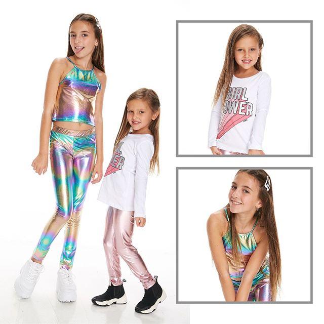 calzas metalizadas niñas Gimos otoño invierno 2020