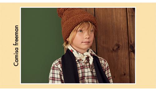 camisa a cuadro niños Paula Cahen D Anvers Niños invierno 2020