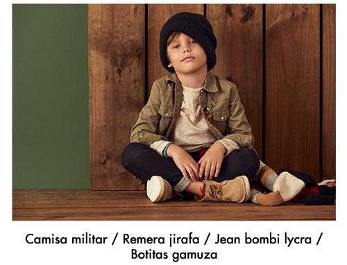 camisa militar para niños Paula Cahen D Anvers Niños invierno 2020