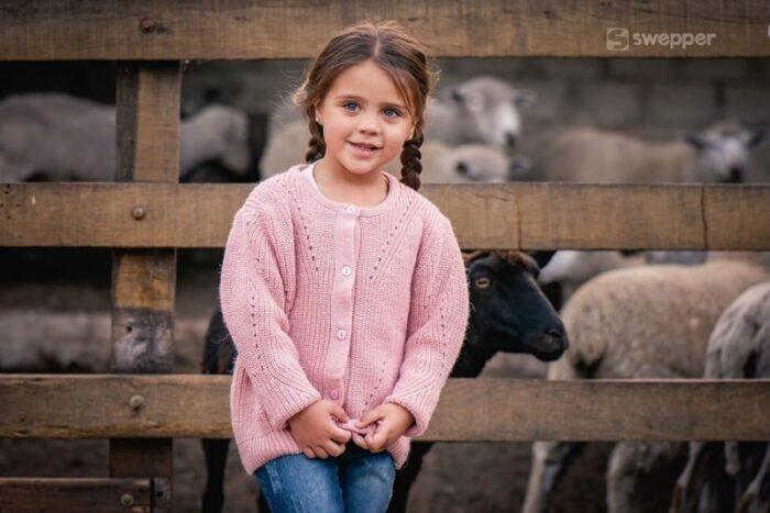 cardigan de lana tejidos niña swepper otoño invierno 2020