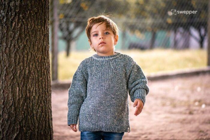 pulover tejido niño swepper otoño invierno 2020