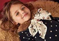 vestido a lunares niña Paula Cahen D Anvers Niños invierno 2020