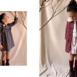 Vestidos para niñas y bebas otoño invierno 2020 By Gro web