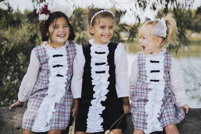 vestidos para niñas waw invierno 2020