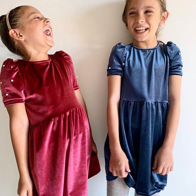 vestidos terciopelo niñas Gro web otoño invierno 2020