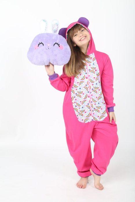enterito pijama niña Urbanito invierno 2020