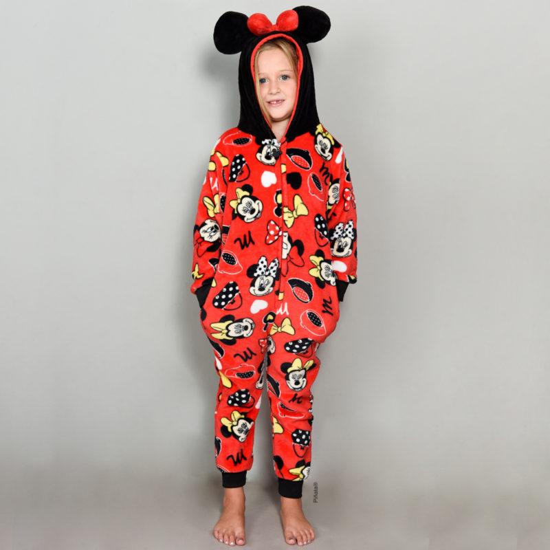 pijamas para niñas minie invierno 2020 piñata