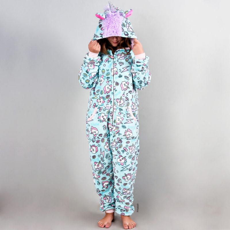 pijamas para niñas unicornio invierno 2020 piñata