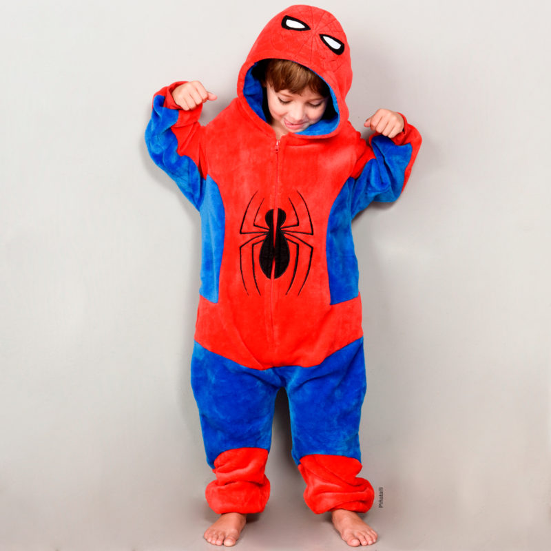 pijamas para niños hombre araña invierno 2020 piñata