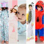 Pijamas para niños y niñas invierno 2020