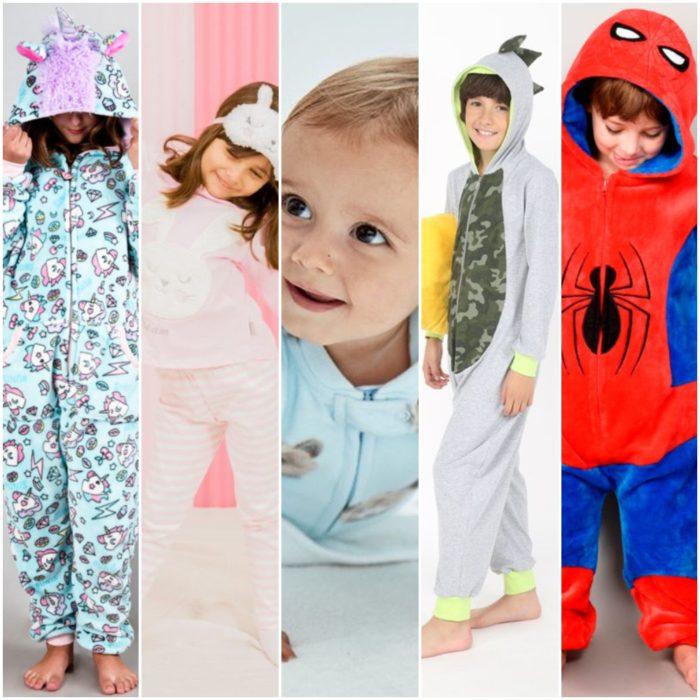 pijamas para niños invierno 2020