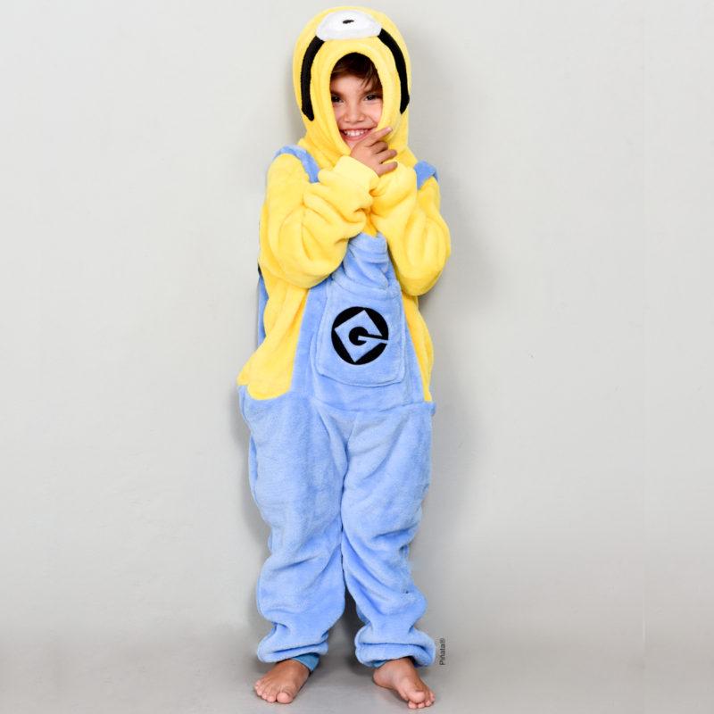 pijamas para niños minions invierno 2020 piñata