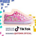 zapatillas estampadas para niñas atomik 2020
