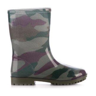 Troncamuflada scaled bota de lluvia atomik niño