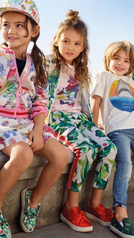 estampas tropicales niñas verano 2020