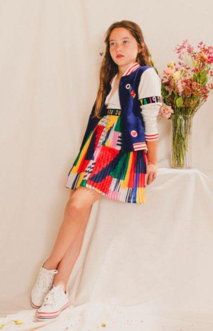 faldas estampadas para niñas verano 2021