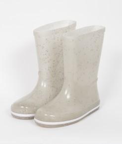 mimo co bota de lluvia con brillos