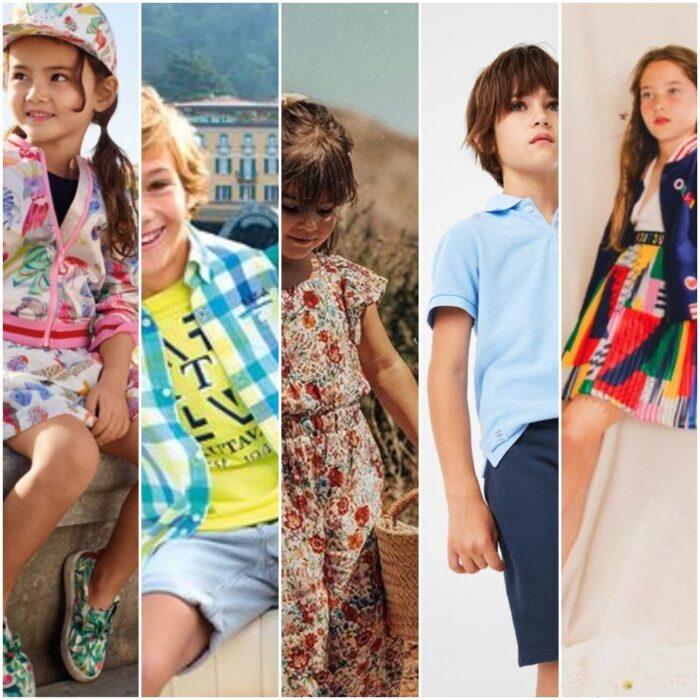 tendencia de moda niños verano 2021
