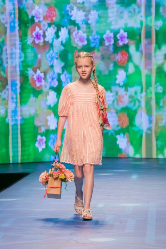 vestido rosa niña verano 2021