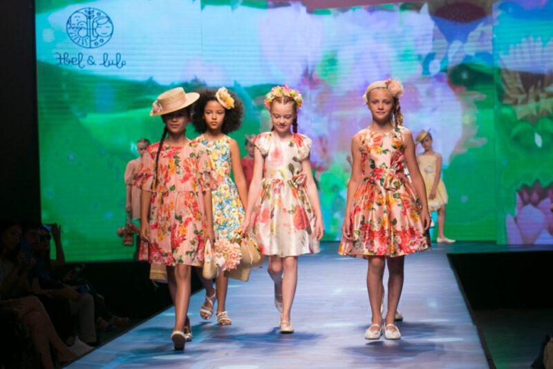 vestidos floreados para niñas verano 2021